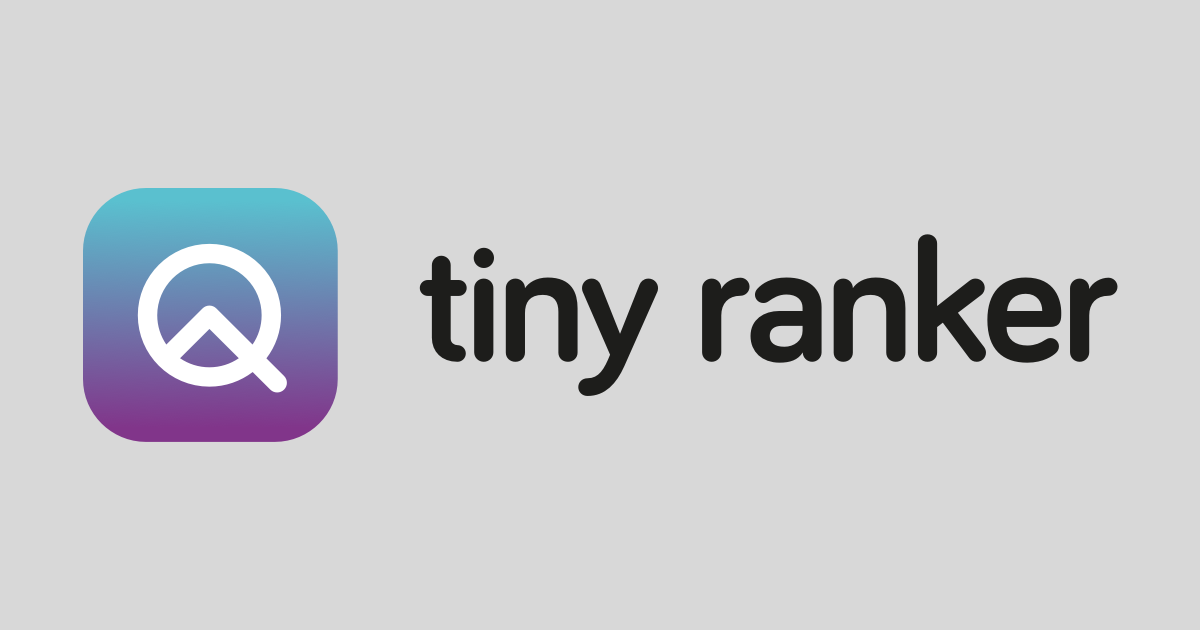 tinyranker.com